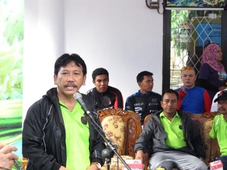 Sambutan Kepala Balai Taman Nasional Takabonerate,Ir.Noel Layuk Allo,MM