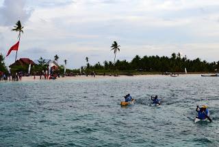 Lomba Balap Perahu Sampan, sebagai ajang pelibatan masyarakat, tradisional, budaya serta mendukung kebaharian.