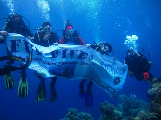 Fundive diikuti lebih dari 30 orang peserta dari wisatawan domestik dan manca negara.