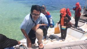 Relawan Tiba di Pulau
