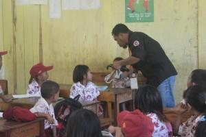 Relawan Mengajar dan memberikan inspirasi