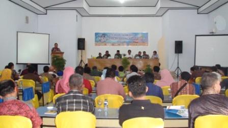 Rakor Forum Cagar Biosfer Taka Bonerate Kepulauan Selayar 11 Sept 2015
