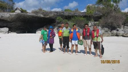 Kunjungan Lapangan ke Liang Kareta- Kepulauan Selayar 10  Sept 2015