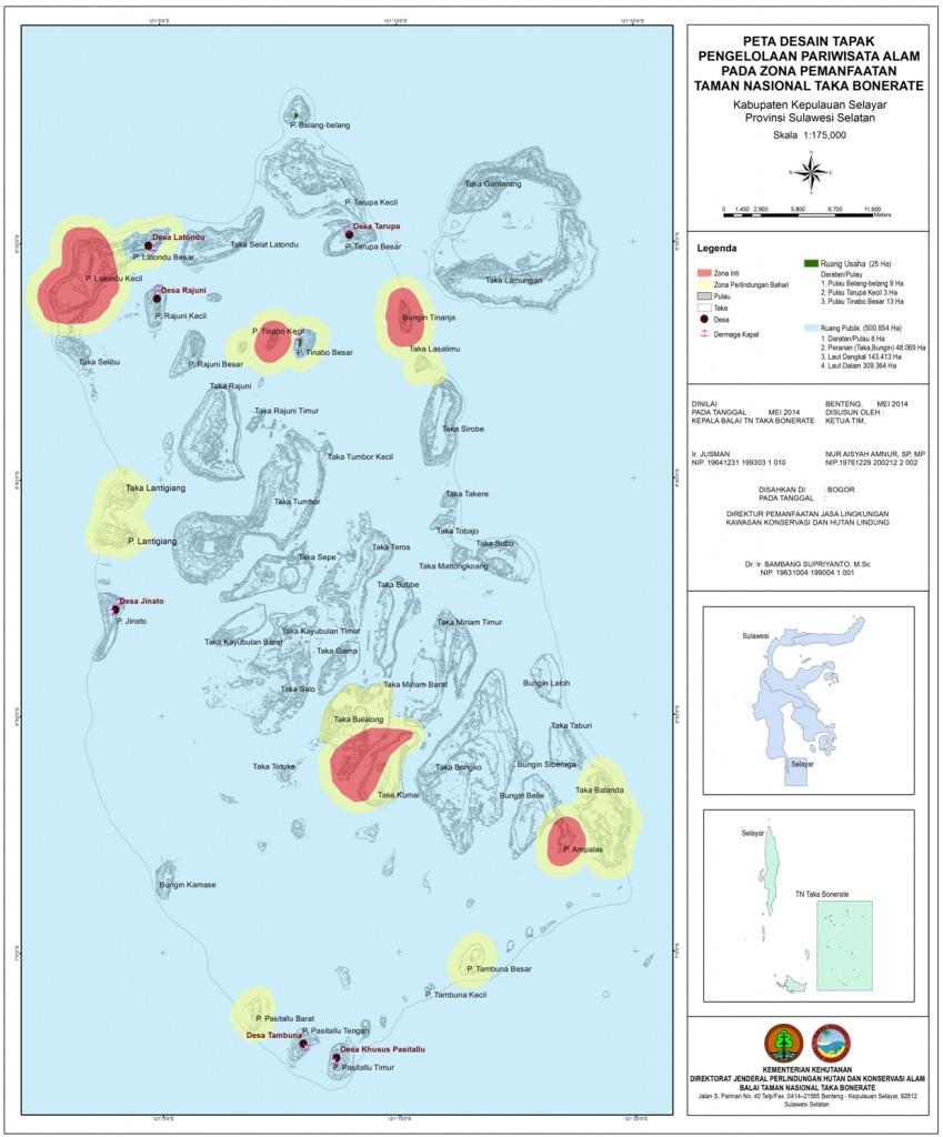 Peta Desain Tapak