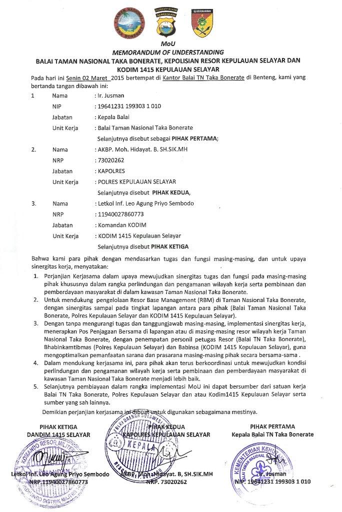 Mou Nota Kesepakatan Antar Lembaga Pelangi Informasi